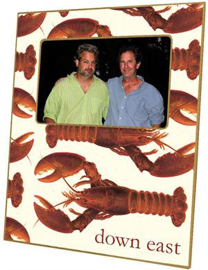 Cooked Lobsters Picture Frame