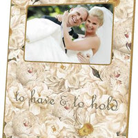 White Roses Picture Frame