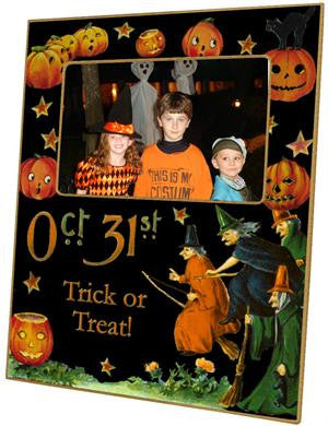 Halloween Oct. 31st Picture Frame