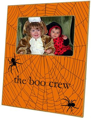 Halloween Spiderweb Picture Frame