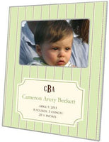Avery Mint Birth Announcement Picture Frame