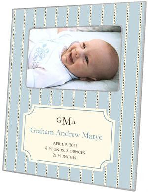 Avery Wedgewood Birth Announcement Picture Frame