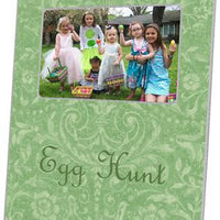 Easter Mint Damask Picture Frame