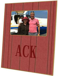 Nantucket Red Picture Frame