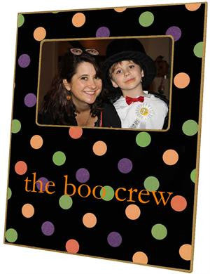 Halloween Dots Picture Frame