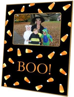 Halloween Candy Corn Picture Frame