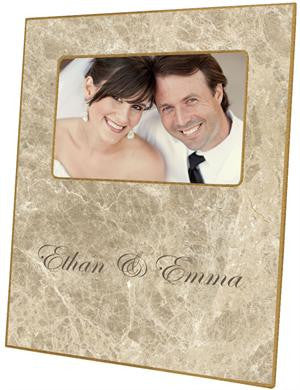 Crema Marble Simple Picture Frame
