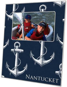 Vintage Anchor Navy Picture Frame