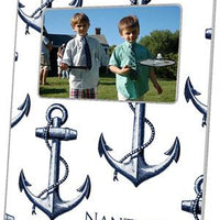 Vintage Anchor White Picture Frame