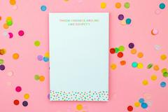 Kindness Like Confetti Notepad