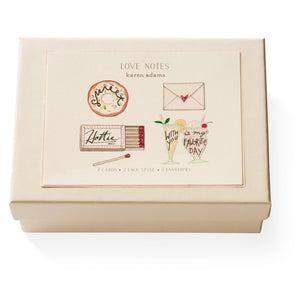 Karen Adams Love Notes Note card Box
