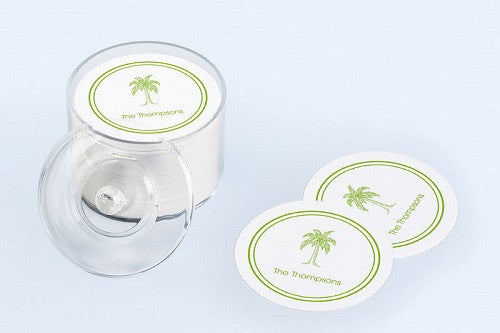 Palm Beach Palm Tree  Coasters