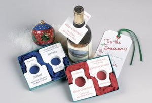 Holiday Bottle Gift Tags