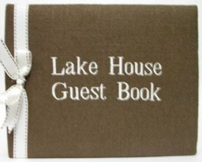 Lake House Guest Book