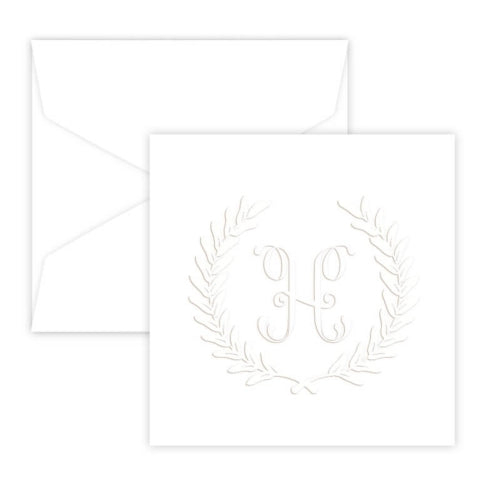 Harvest Portrait Embossed Gift Enclosure Card