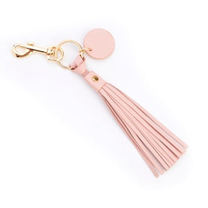 Leather Tassel Key Fob +15 to monogram