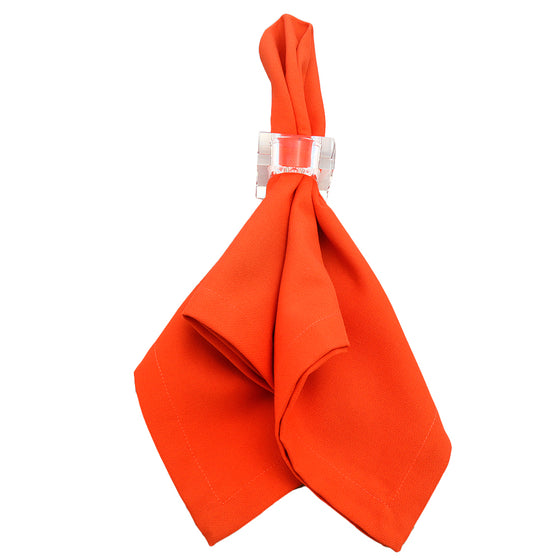 Orange Dinner Napkins | Set of 4