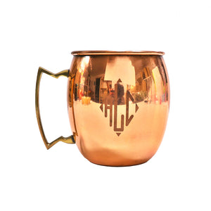 Monogrammed Moscow Mules