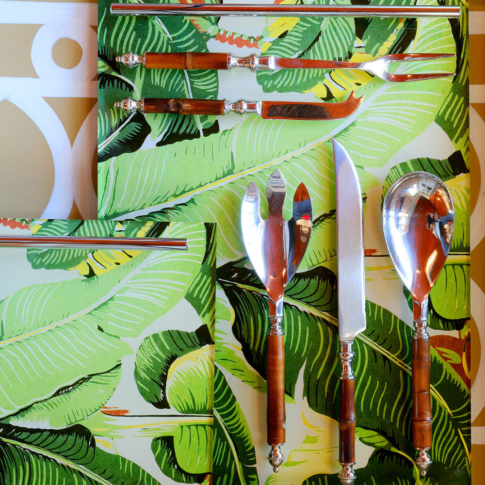 Beverly Palm Leaf Trays