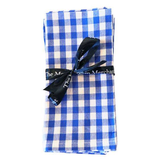 Blue Bistro Napkin - Set of 6