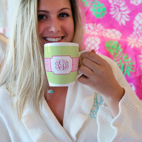 A Very Monogrammed Morning
