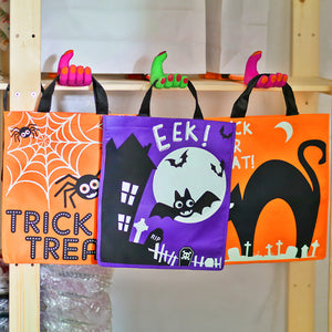 Halloween Trick-or-Treat Totes