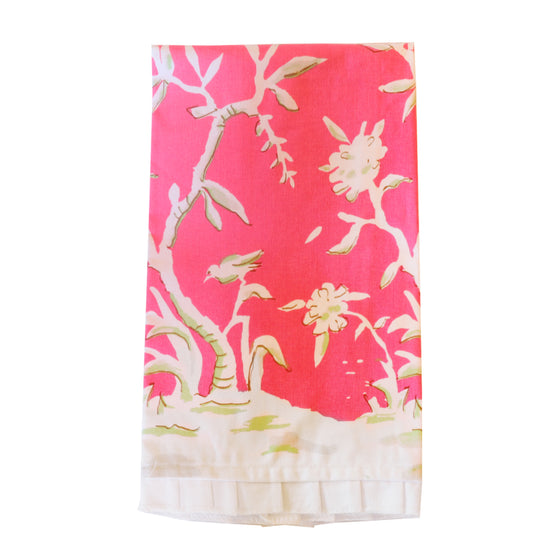 Clivedon Pink Tea Towel by Dana Gibson