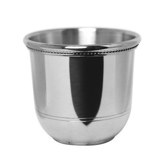 Engraved Images of America Pewter Julep Cup