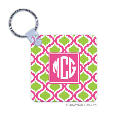 Kate Raspberry & Lime Key Chain