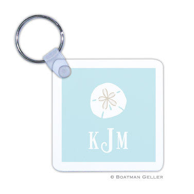 Sand Dollar Key Chain