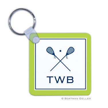 Lacrosse Key Chain