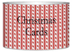 Candy Cane Stripe Letter Box