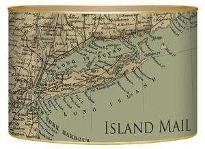 Long Island Antique Map Letter Box