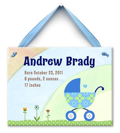 Personalized Buggy Wall Tile