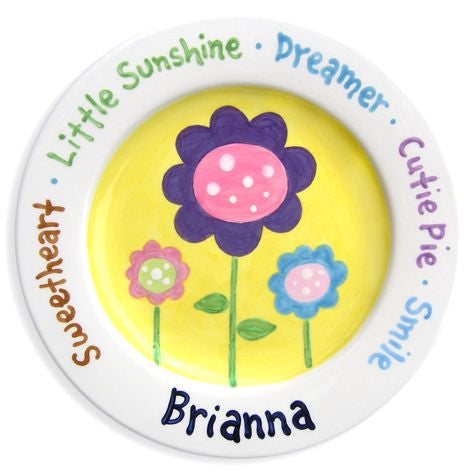 Personalized Little Sunshine Plate