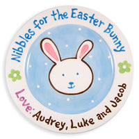 Nibbles for Easter Bunny Plate