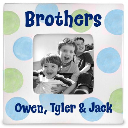 Personalized Brothers Picture Frame