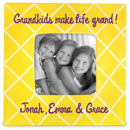 Personalized Grand Kids Picture Frame