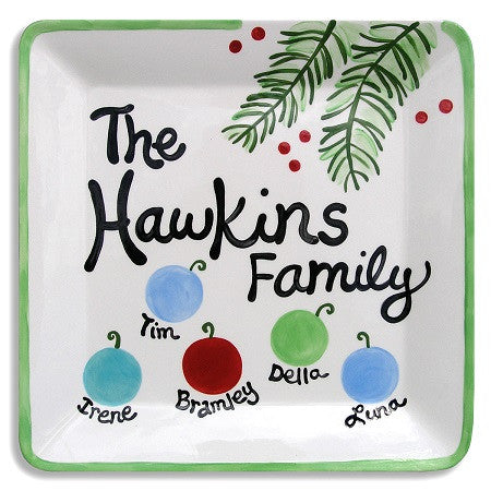 Personalized Family Platter