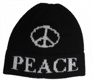 Large Peace Sign Hat