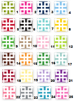 Lattice Clipboard (25 Colors)