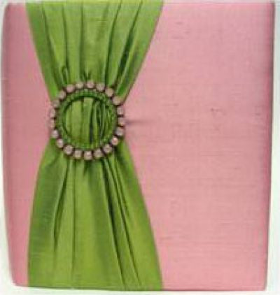 Pink & Green Silk Album