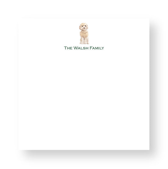Design Your Own Dog Lovers Notepad