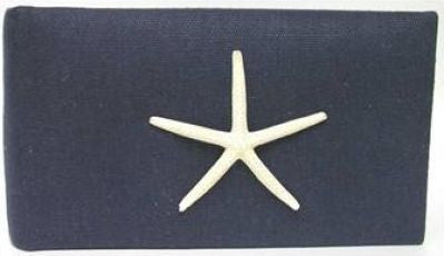 Navy Linen Finger Starfish Album
