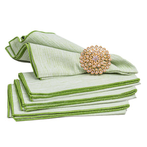 Grasscloth Dinner Napkins/Set of 4