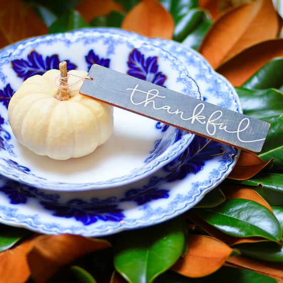 A Thanksgiving Tablescape with Ginny's Orchids