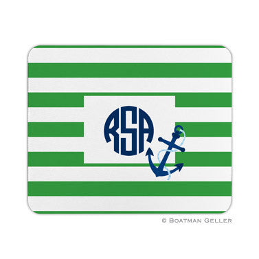 Stripe Anchor Mouse Pad