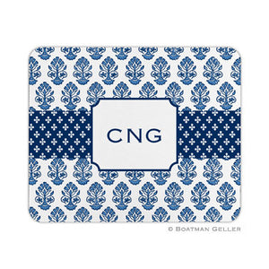 Betti Navy Mouse Pad