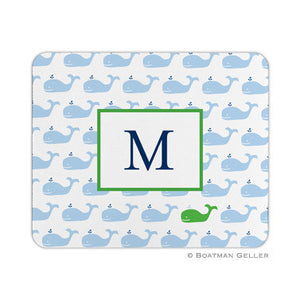 Whale Repeat Mouse Pad