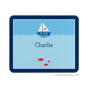 Sailboat Mouse Pad